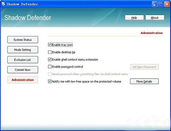 تامین امنیت کامپیوتر، Shadow Defender 1.2.0.370