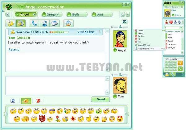 گفتگو و چت اینترنتی، ICQ 8.0 Build 5988 Final