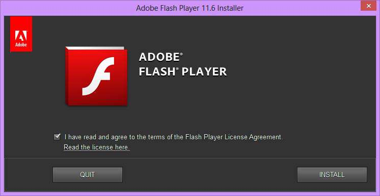 نمایش فایل های فلش، Adobe Flash Player 11.6.602.168 Final All In One