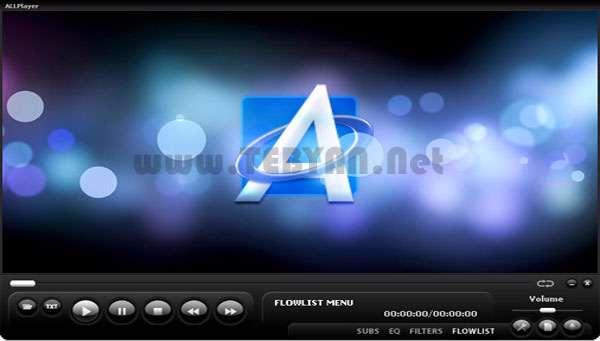 پخش فایلهای صوتی و تصویری + پرتابل، AllPlayer 5.4.2.0 Final