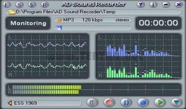ضبط با کیفیت صدا + پرتابل، AD Sound Recorder 5.4.5