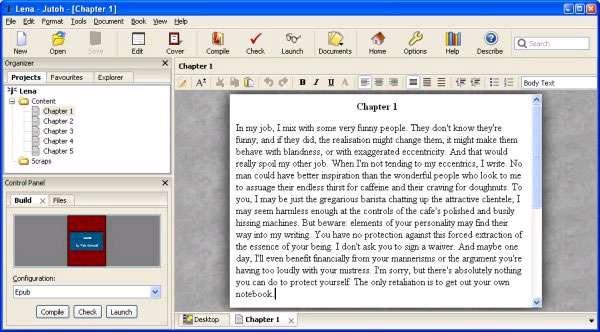 ساخت کتاب الکترونیکی، Anthemion Jutoh 1.65.8