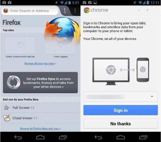 مرورگر فایرفاکس 19 نسخه اندروید، Mozilla Firefox v19.0 For Android