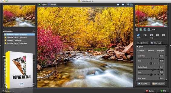 پلاگین افزایش جزئیات تصاویر در فتوشاپ، Topaz Detail 3.1.0