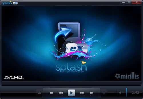 پخش قدرتمند فیلم های ویدیویی، Mirillis Splash PRO EX Player 1.13.2