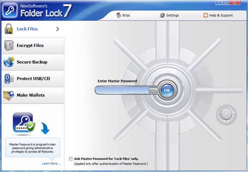 قفل گذاری روی پوشه و فایل، Folder Lock 7.2.0
