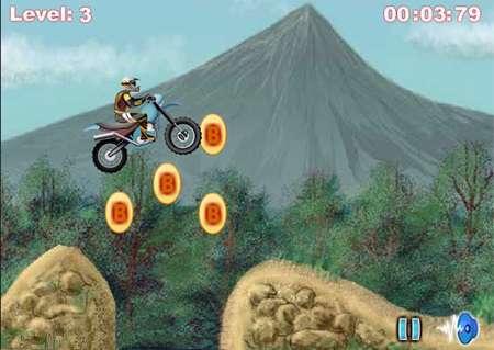 بازی مهیج موتور سواری، Nuclear Bike