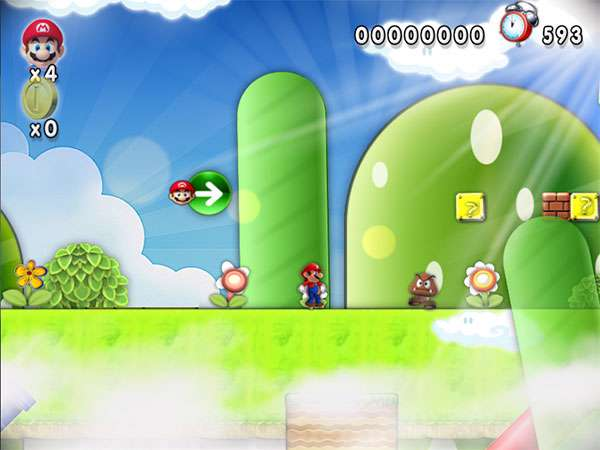 بازی زیبای سوپر ماریو (قارچ خور)، New Super Mario Forever 2012