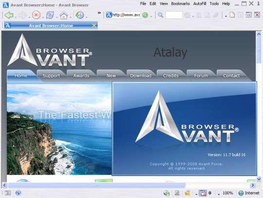 مرورگر سریع و امن، Avant Browser 2013 Build 11 Final