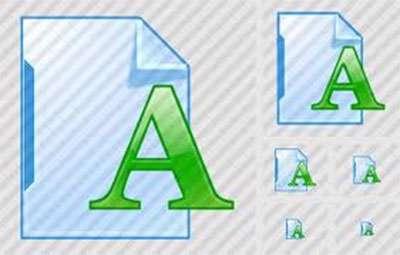 کتاب ساخت فونت از کاغذ تا مانیتور با نرم افزار Font Creator