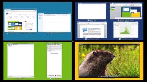 ایجاد چندین دسکتاپ مجازی، Dexpot 1.6.7 Build 2249 Final