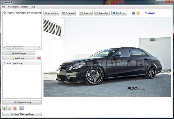 برچسب گذاری و واترمارک کردن تصاویر، Uconomix uMark Professional 3.10