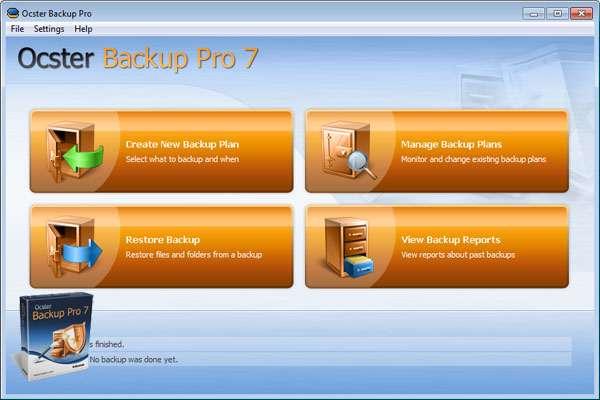 تهیه نسخه پشتیبان از فولدر و فایل های کامپیوتر، Ocster Backup Pro 7.14