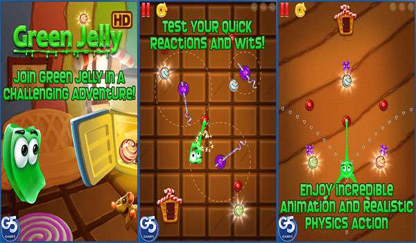 بازی فکری ژله سبز نسخه اندروید، Green Jelly v1.0