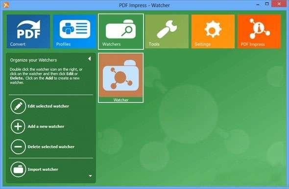 ابزار همه کاره فایل های پی دی اف، PDF Impress 2013