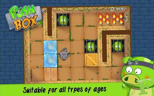 بازی فکری و مهیج Push The Box 1.0 نسخه کامپیوتر
