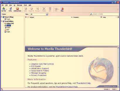 مدیریت حرفه ای ایمیل به همراه نسخه قابل حمل، Mozilla Thunderbird 17.0.3 Final