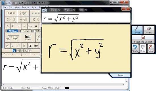 تایپ فرمول های ریاضی، MathType 6.9