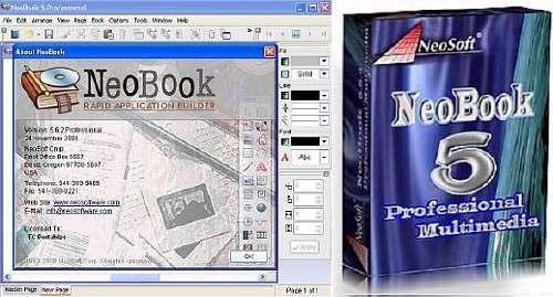 ساخت اتوران و نرمافزارهای ساده، NeoBook Professional 5.8.1