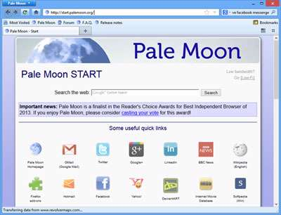 مرورگر سریع و قدرتمند + پرتابل، Pale Moon 19.0.1 Final