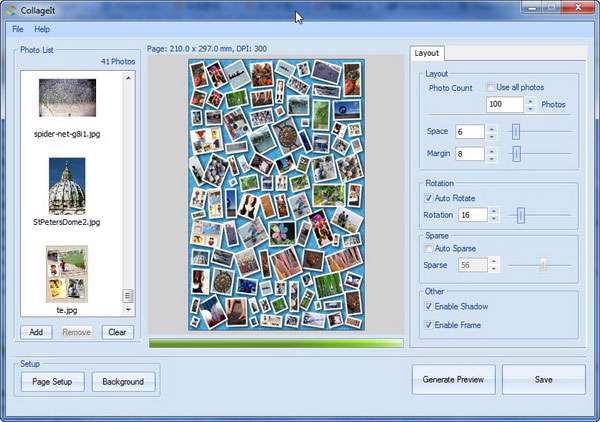 ترکیب تصاویر و ساخت کلاژ، CollageIt Pro 1.9.3.3556
