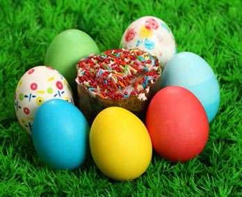 والپیپرهای دیدنی با موضوع تخم مرغ های رنگی