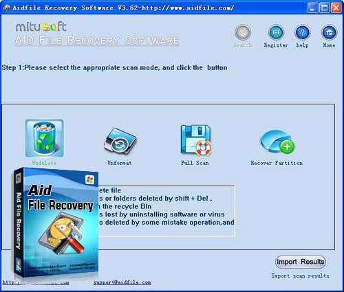 بازیابی فایل های حذف شده، Aidfile Recovery Software Pro 3.6.2.2