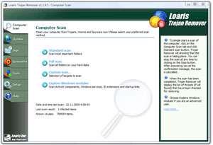 پاکسازی کرم و تروجان از سیستم، Loaris Trojan Remover 1.2.8.3