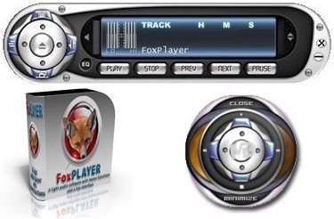 پلیر ساده و سبک فایل های صوتی، FoxPlayer 3.1.0