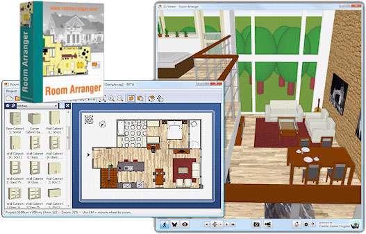 طراحی دکوراسیون منزل + پرتابل، Room Arranger 7.2.3.308