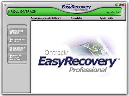بازیابی ساده و حرفه ای اطلاعات پاک شده + پرتابل، Ontrack EasyRecovery Professional 10.0.5.6