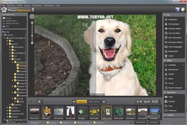ویرایشگر تصاویر، Ashampoo Photo Optimizer 5.4.0 Final