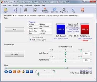 افزایش کیفیت فایل های صوتی، Sound Normalizer 4.0 Final