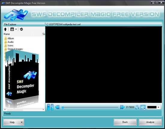 ویرایش و جداسازی فایل های فلش، SWF Decompiler Magic 5.2.2.20