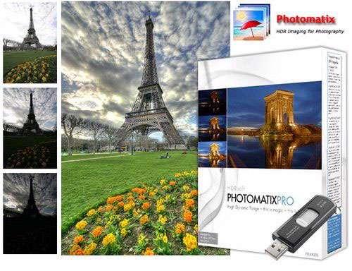 ویرایش و ترکیب تصاویر + پرتابل، HDRsoft Photomatix Pro 4.2.7