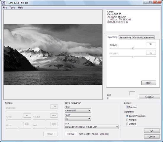 اصلاح و ترمیم تصاویر، PTLens 8.9.0.17 Final