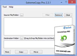 کپی فایل با بیشترین سرعت + پرتابل، ExtremeCopy Pro 2.3.2