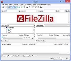 مدیریت و کار با FTP + پرتابل، FileZilla 3.7.1 Final