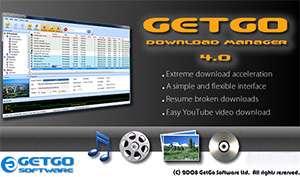 مدیریت دانلود فایل، GetGo Download Manager 4.8.5.1687
