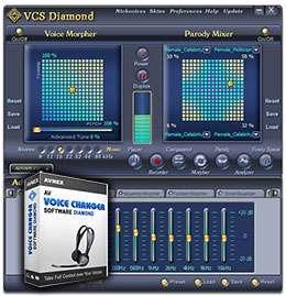 تغییر صدای افراد در کامپیوتر، AV Voice Changer Software Diamond 7.0.53 Retail