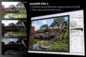 ویرایش و خلق تصاویر فوق العاده، easyHDR PRO 2.30.5