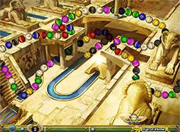 بازی جذاب و مهیج  Luxor 5th Passage v1.0.0.8
