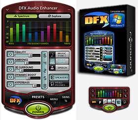 افزایش کیفیت فایل های صوتی، DFX Audio Enhancer 11.110