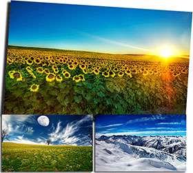 تصاویر فوق العاده زیبا با موضوع طبیعت و کیفیت بالا، Best Nature HD Wallpapers