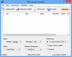 تغییر کیفیت فایل های ام پی3، MP3 Quality Modifier 2.52
