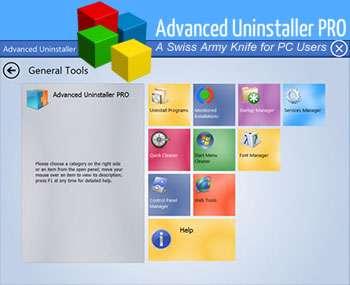 حذف نرم افزارهای نصب شده + پرتابل، Advanced Uninstaller PRO 11.19