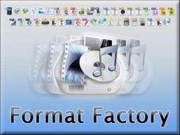 مبدل قدرتمند فایل های چندرسانه ای، Format Factory 3.1.0
