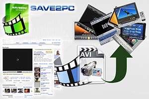 ذخیره و تبدیل ویدیوهای آنلاین + پرتابل، save2pc Ultimate 5.33 Build 1451