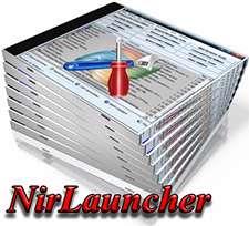 مجموعه ابزارهای کاربردی ویندوز به صورت قابل حمل، NirLauncher 1.18.14