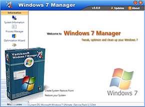 مدیریت ویندوز 7 + پرتابل، Windows 7 Manager 4.2.8 Final